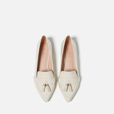 TASSELLED LOAFERS  http://www.zara.com/us/en/woman/special-prices/tasselled-loafers-c817021p3183850.html
