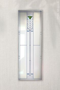 """Discover the art deco full length wall mirror """"Francesco,"""" a tall, narrow mirror that will lend flair to your entryway. See it now. . . . #FrankLloydWright #fulllengthmirror #artdecowallmirror #entrywaydecor Craftsman Decor, Modern Craftsman, Mirror Mosaic, Wall Mirror, Art Deco Decor, Wall Decor, Wall Art, Silver Walls, Mid Century Modern Decor"""