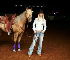 Sherry Cervi, I love her horse