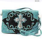Cross Design Hipster Wallet Sling Messenger Bag Purse by JewelryPassport on Etsy