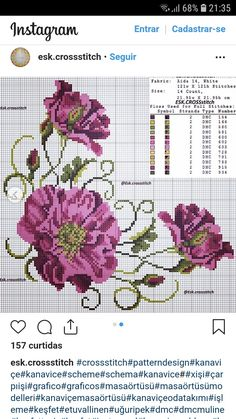 Tulip silhouette cross stitch pattern in pdf Cross Stitching, Cross Stitch Embroidery, Embroidery Patterns, Cross Stitch Patterns, Cross Stitch Heart, Cross Stitch Flowers, Free To Use Images, Yarn Thread, Ribbon Work