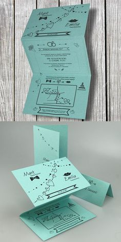 wedding cards, invitation, comics motive, design, unusual