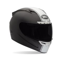 New lid I got in the states, Bell Vortex in Rally Matte Black with the racing stripe!