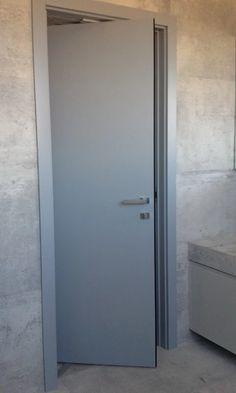 Zdjęcie: Drzwi obrotowo - przesuwne, lakierowane to nowoczesne rozwiązanie do każdego domu.
