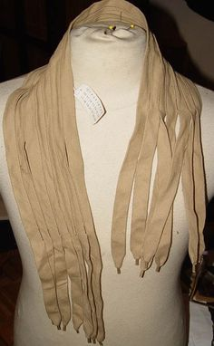 Maison Martin Margiela Women's Artisanal Line 0 Shoelace scarf