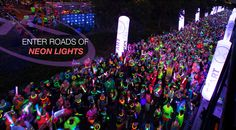 Electric Run is a raving that features pulsing music and glow sticks, making it feel more like a concert than a workout. Racers are encouraged to wear neon and dance-run their way through the miles.