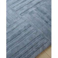 Bowron Sheepskin Shortwool Design Muddle Pewter Contemporary Rectangular Rug - 7967-322-000