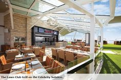 #Celebrity Solstice | The Lawn Club Grill Lido Deck