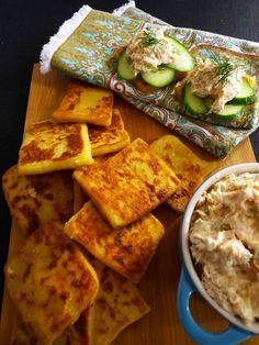 Irish potato bread and smoked salmon spread recipe