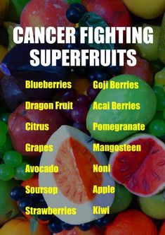 CANCER FIGHTING SUPERFRUITS: Blueberries, Dragon Fruit, Citrus, Grapes, Avocado, Soursop, Strawberries, Goji Berries, Acai Berries, Pomegranate, Mangosteen, Noni, Apple, Kiwi. Learn about the cancer fighting qualities of alkaline rich Kangen Water. It neu