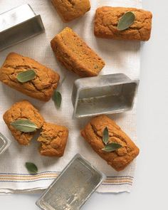 Pumpkin, Sage, and Browned-Butter Cakes Recipe