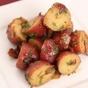 Warm Potato Salad Recipe - Laura in the Kitchen - Internet Cooking Show Starring Laura Vitale