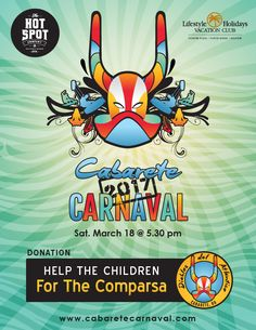 We sponsor the Cabarete Carnaval! You can help make a children's team for Cabarete by donating in our bar! Let's help the kids!