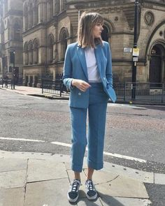 46 Best ideas for style vestimentaire femme urbain Mode Outfits, Fashion Outfits, Womens Fashion, Dress Outfits, Blazer Fashion, Dresses, Work Fashion, Fashion Models, Fashion Trends