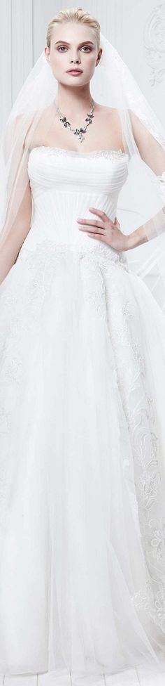 Zac Posen Collection  Spring 2015 Bridal