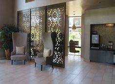 Laser Cut Screens, Powder Coat Colors, Laser Cutting, Lighting, Wall, Furniture, Home Decor, Decoration Home, Room Decor