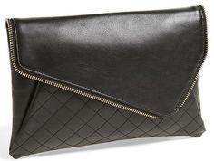 Halogen® 'Date Night' Asymmetrical Flap Clutch