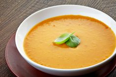 Curried Apple Butternut Squash Soup- try serving a soup in small glasses to pass around as a healthy appetizer!