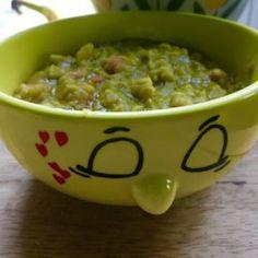 Vegan Split Pea Soup I - Printer Friendly Vegan Bean Soup, Vegetarian Split Pea Soup, Split Pea Soup Recipe, Vegan Soups, Healthy Cooking, Healthy Dinner Recipes, My Recipes, Soup Recipes, Vegan Recipes