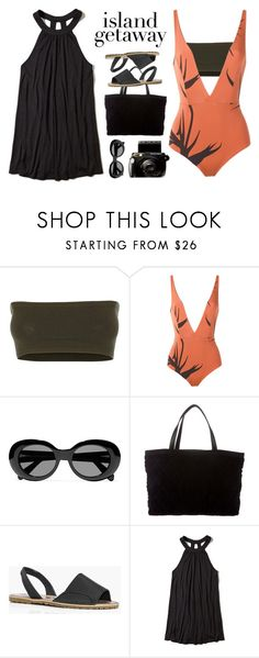 """""""Untitled #2234"""" by countrycousin ❤ liked on Polyvore featuring Versace, Haight, Acne Studios, Chanel, Boohoo and Hollister Co."""
