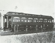Trains — Chicago, Aurora and Elgin Railroad car No. 10,...