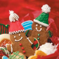 Gingerbread Cutout Cookies Recipe -Our two boys linger around the kitchen when these aromatic cookies are baking. I make them throughout the year using a variety of cookie cutters. —Christy Thelan, Kellog, Iowa