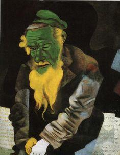 Jew in Green - Marc Chagall - WikiArt.org