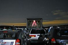 Pick a field or parking lot.. any field or lot... GO ahead!... FunFlicks will turn it into a Drive-in Movie for you!