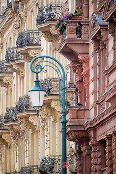 Historische Fassaden in #Wiesbaden