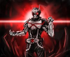 Dark Warrior, Zero One, Kamen Rider, Power Rangers, Gundam, Character Art, Darth Vader, Superhero, Artist