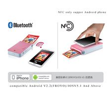 For LG New Vesion DP239P Bluetooth Wireless Pocket Photo Printer Mobile Phone&Tablet Color Photo Printer FOR Android FOR Iphone