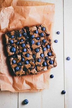 Blueberry Brownies | 31 Delicious Things To Cook In August