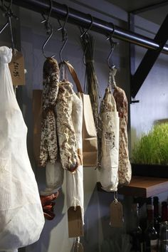 Charcuterie at Damson & Co. in Soho, London by Central Design Studio   Remodelista