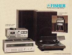 First Name in High Fidelity FISHER 1979 www.1001hifi.com