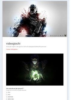 sondaggio videogiochi