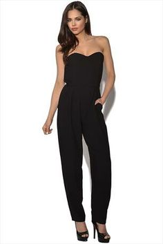 Just had to pin this Strapless Jumpsuit from www.vestryonline.com Love it!!!