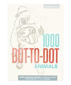 1000 Dot To Animals Paperback By Thunder Bay Press Zulily Zulilyfinds