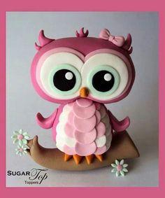 cute owl topper
