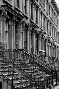 Harlem, NYC-so much more interesting Harlem Nyc, Harlem New York, Nyc Brownstone, A New York Minute, I Love Nyc, Ny Ny, City That Never Sleeps, Stairway To Heaven, Our Lady