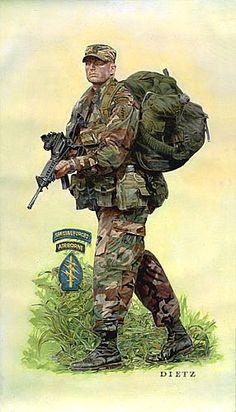 Airborne Ranger, the Silent Warrior!!