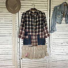 Prairie Chic Jacket XS/S Upcycled Clothing Women Coat or