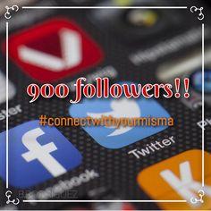 GRACIAS! Estamos a ley de nada para 1,000. La emoción es grande. 💗🙌🏼 #connectwithyourmisma #followus #share
