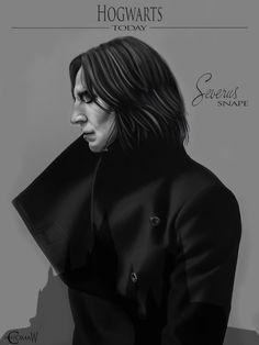 Severus by ComaW.deviantart.com on @DeviantArt