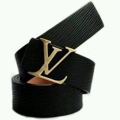 Louis Vuitton Belt Grey