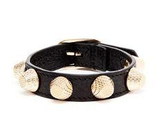 Studded bracelet, naughty but nice