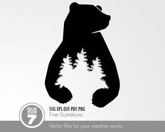 Svg files for cricut lace Bear Stencil, Bear Tattoos, Ship Tattoos, Arrow Tattoos, Word Tattoos, Bear Silhouette, Marken Logo, Wood Burning Patterns, Bear Paws