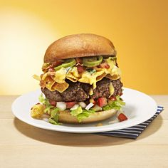 Bacon Queso Burgers - Rachael Ray Every Day