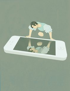 8 Illustrations Showing How Modern Life Is Killing Us Softly