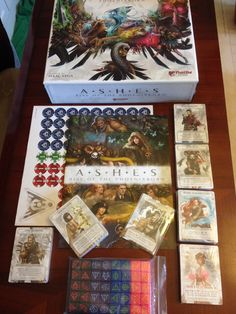 Ashes: Rise of the Phoenixborn ECG Rpg Board Games, Tabletop Board Games, Decorative Boxes, Nerd, Gaming, My Favorite Things, Board Games, Videogames, Otaku