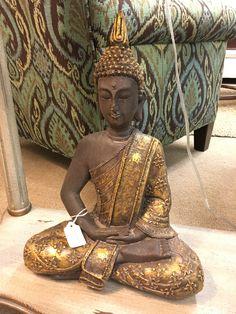 "Clay Buddha Statue. 16"". $78"